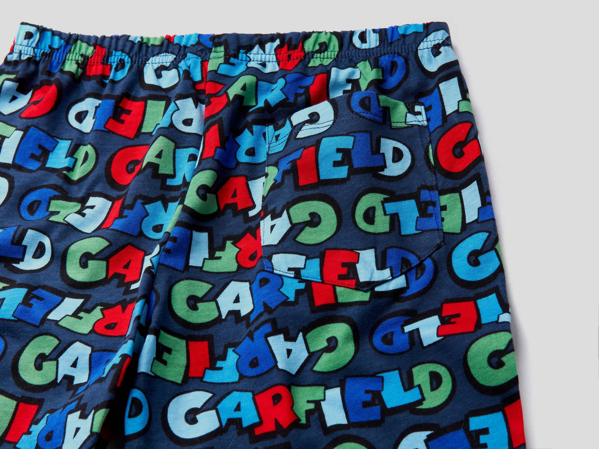 Garfield Şort Pijama Takım