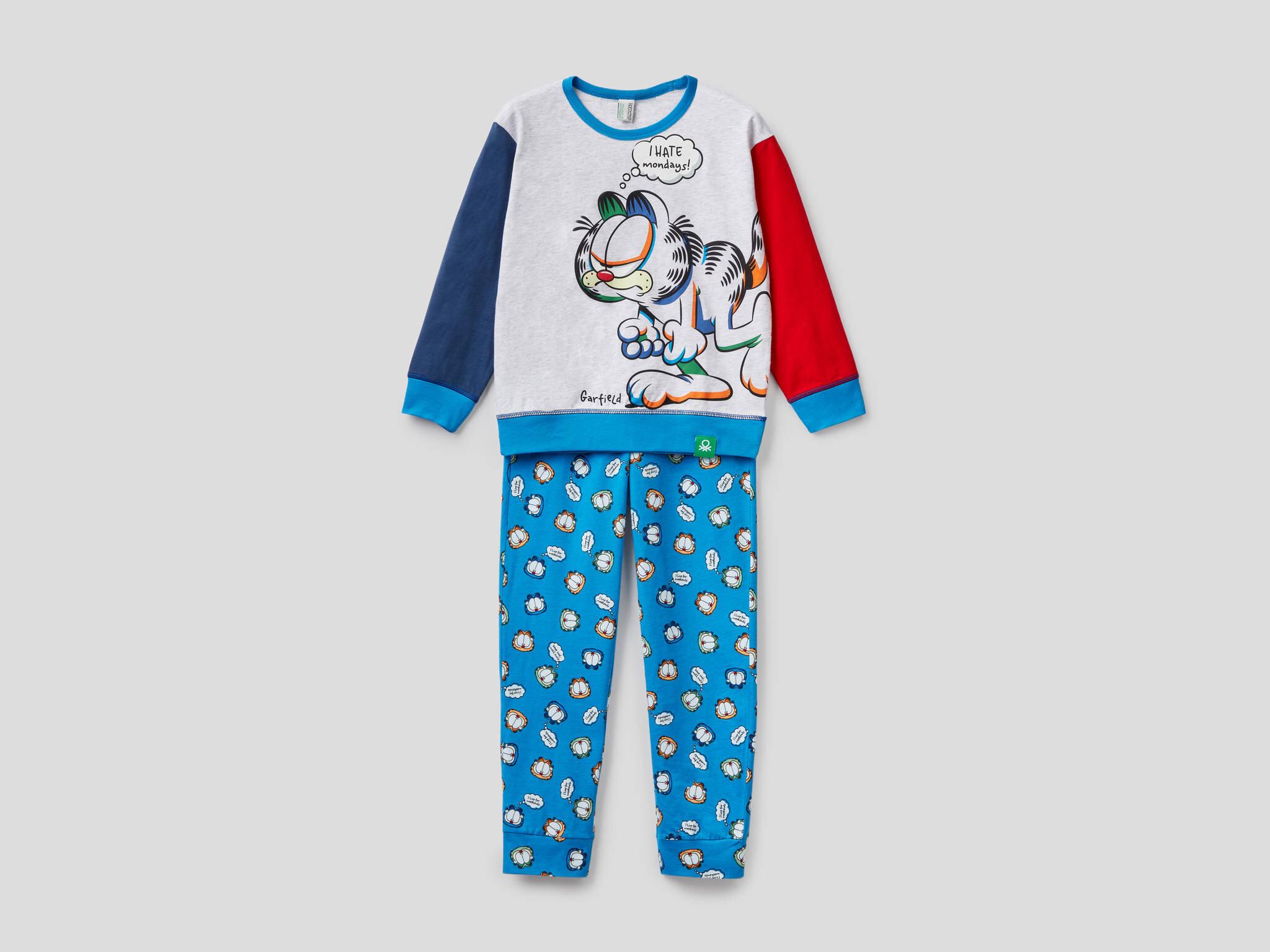 Garfield Baskılı Pijama Takım