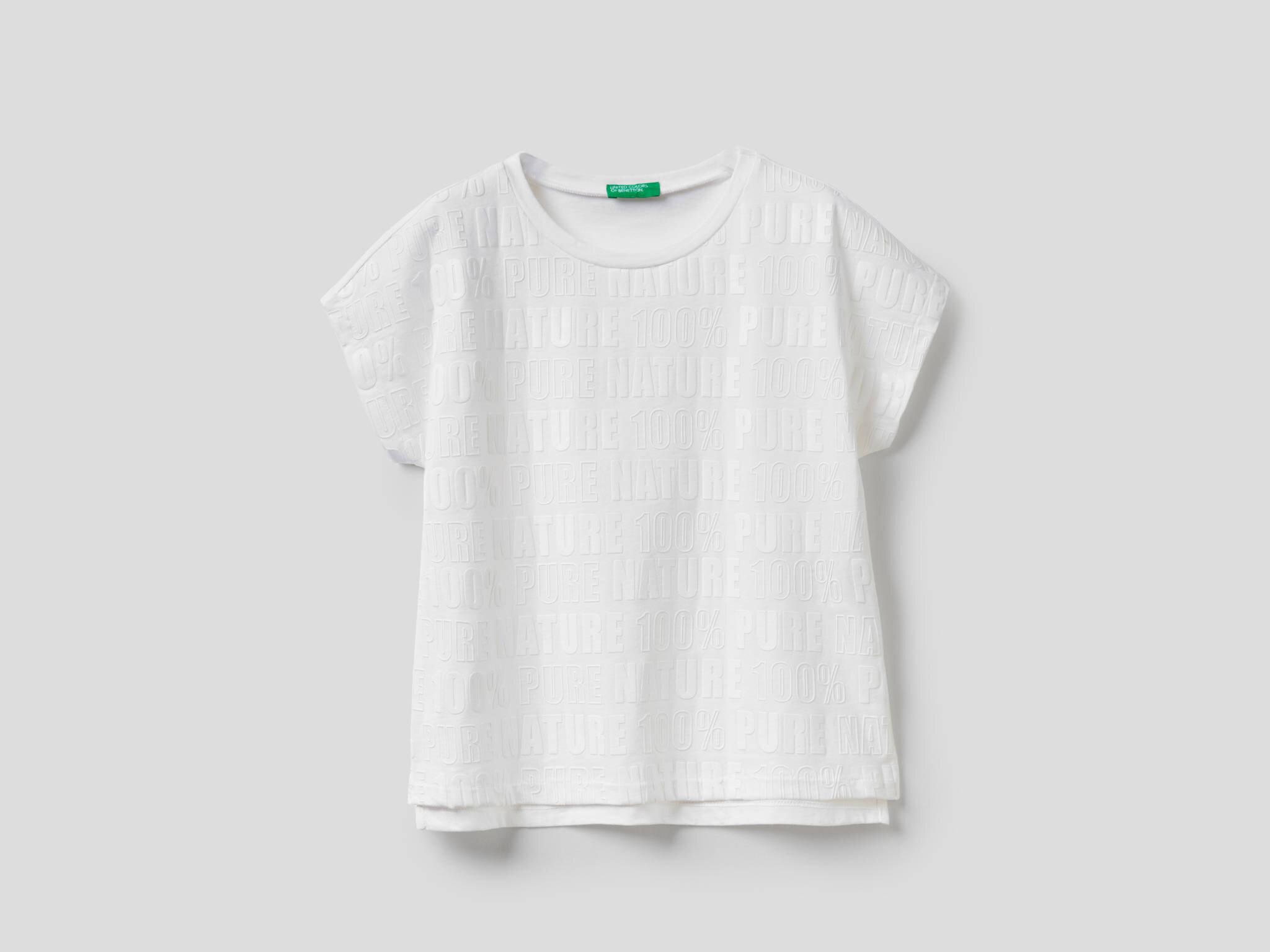 Nature Yazı Desenli Tshirt