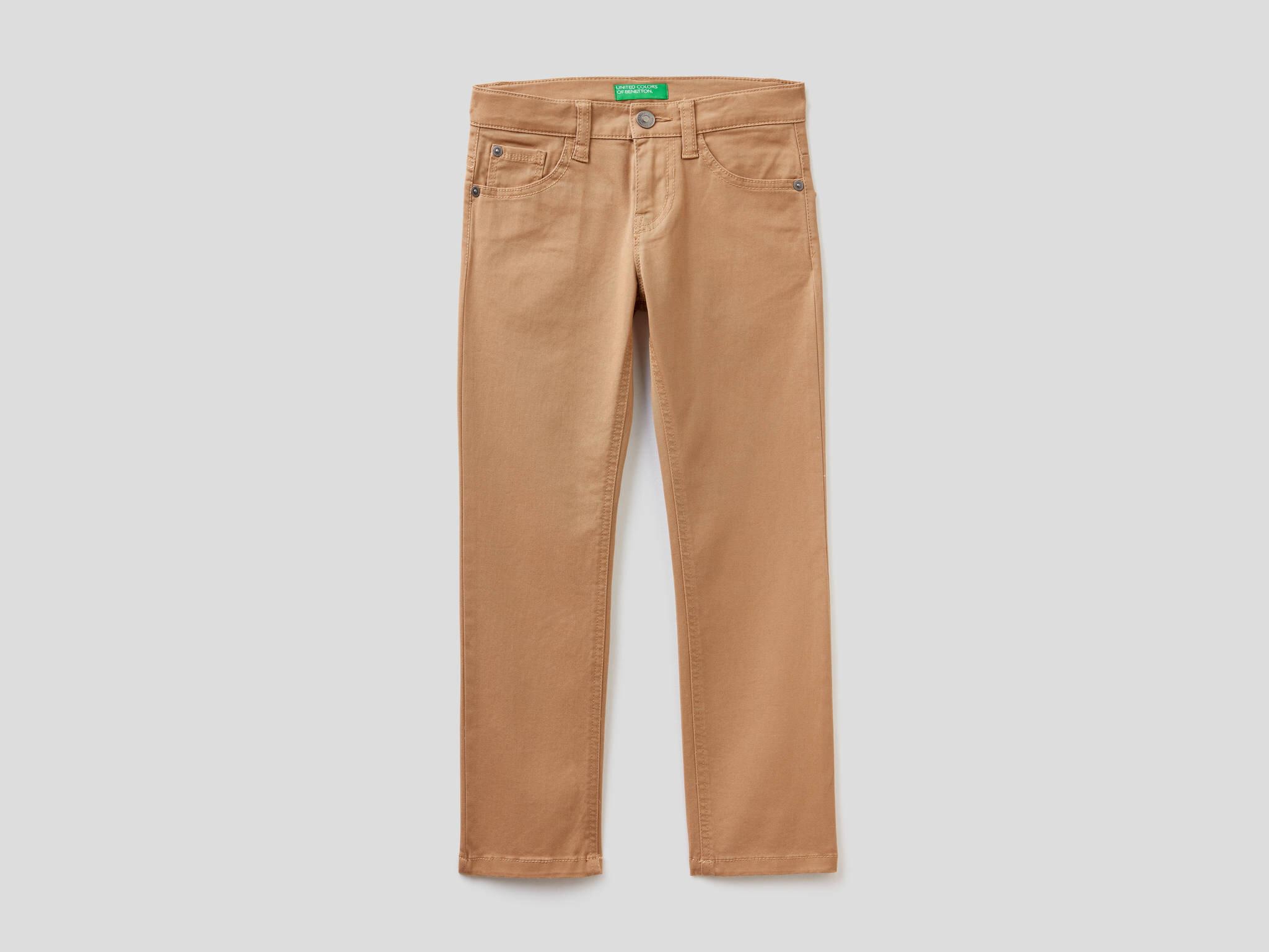 Beş Cepli Renkli Pantolon