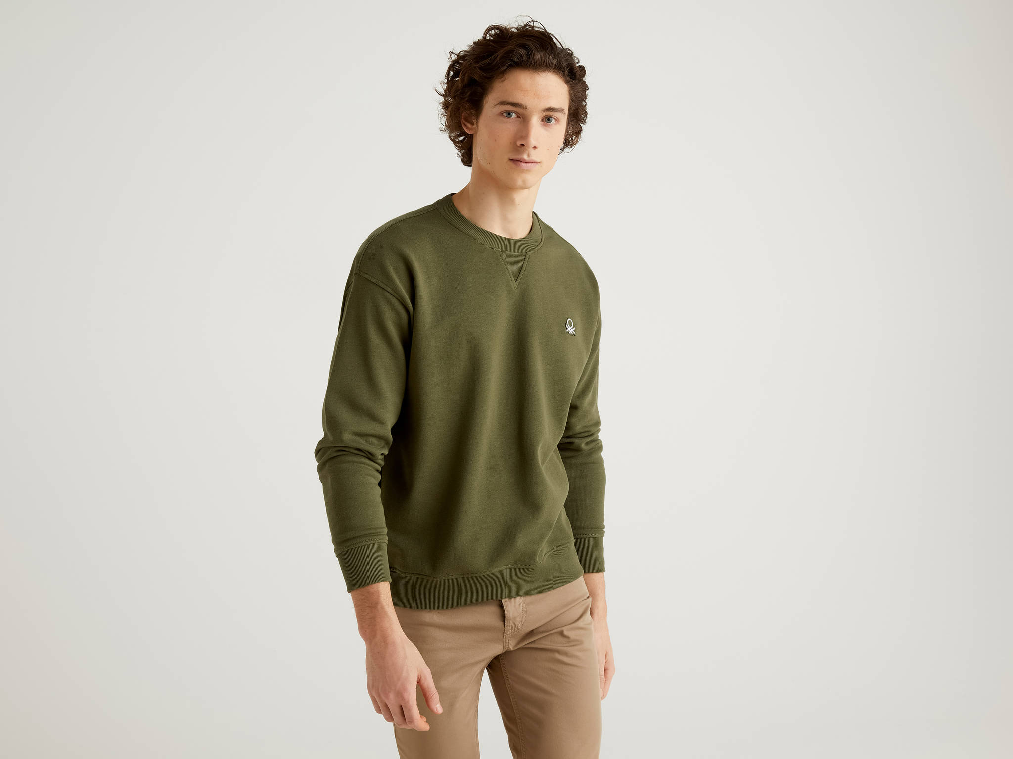 Basic Logolu Sweatshirt