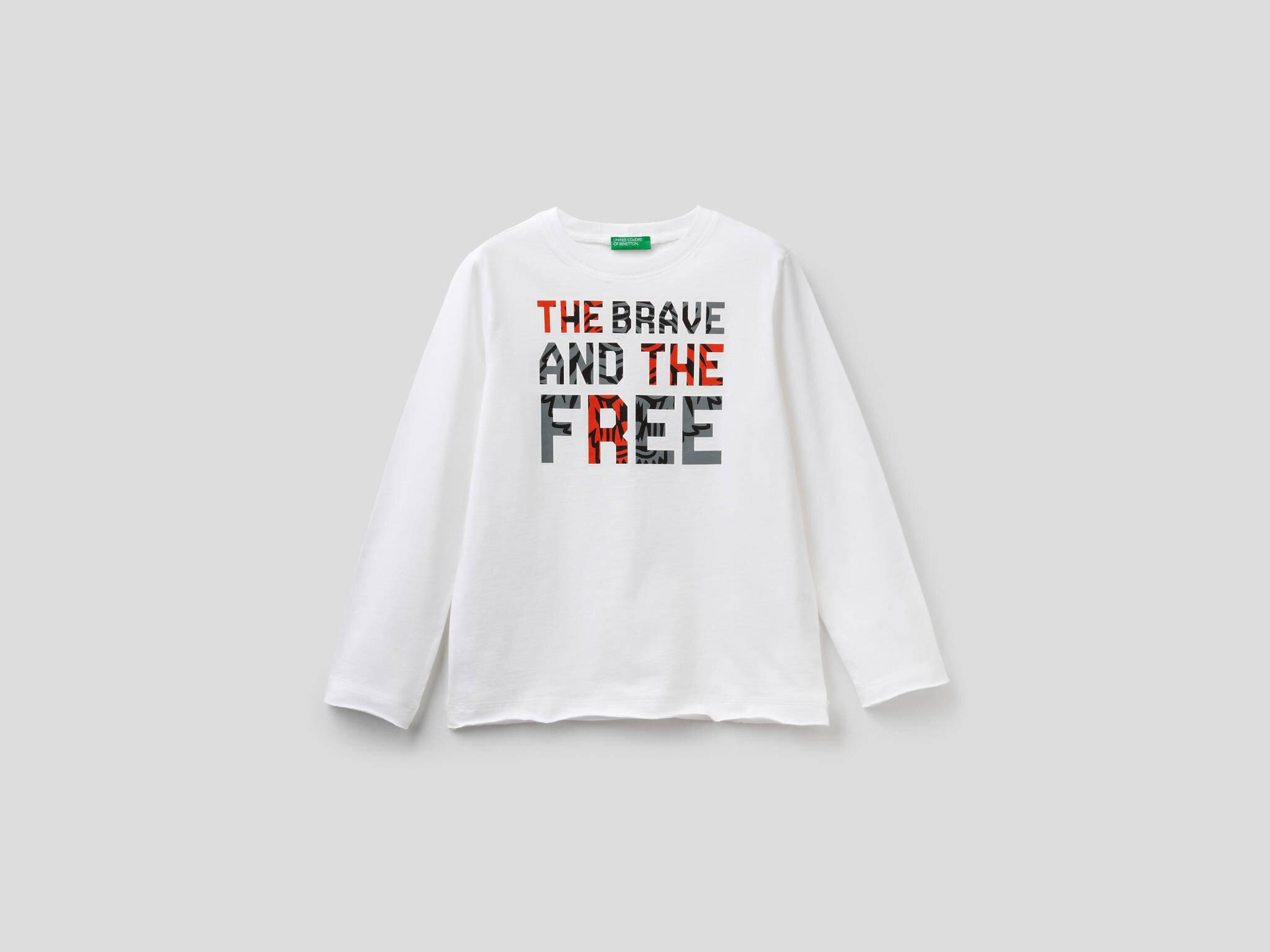 Kaplan Yazı Baskılı Tshirt