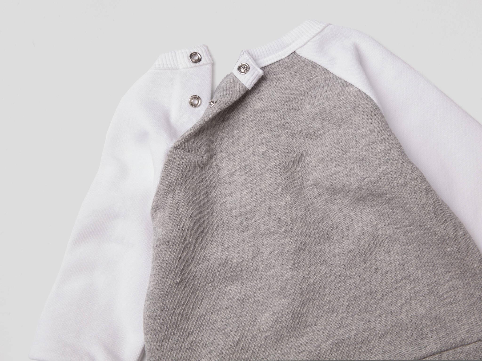 Baskılı Aplikeli Sweatshirt