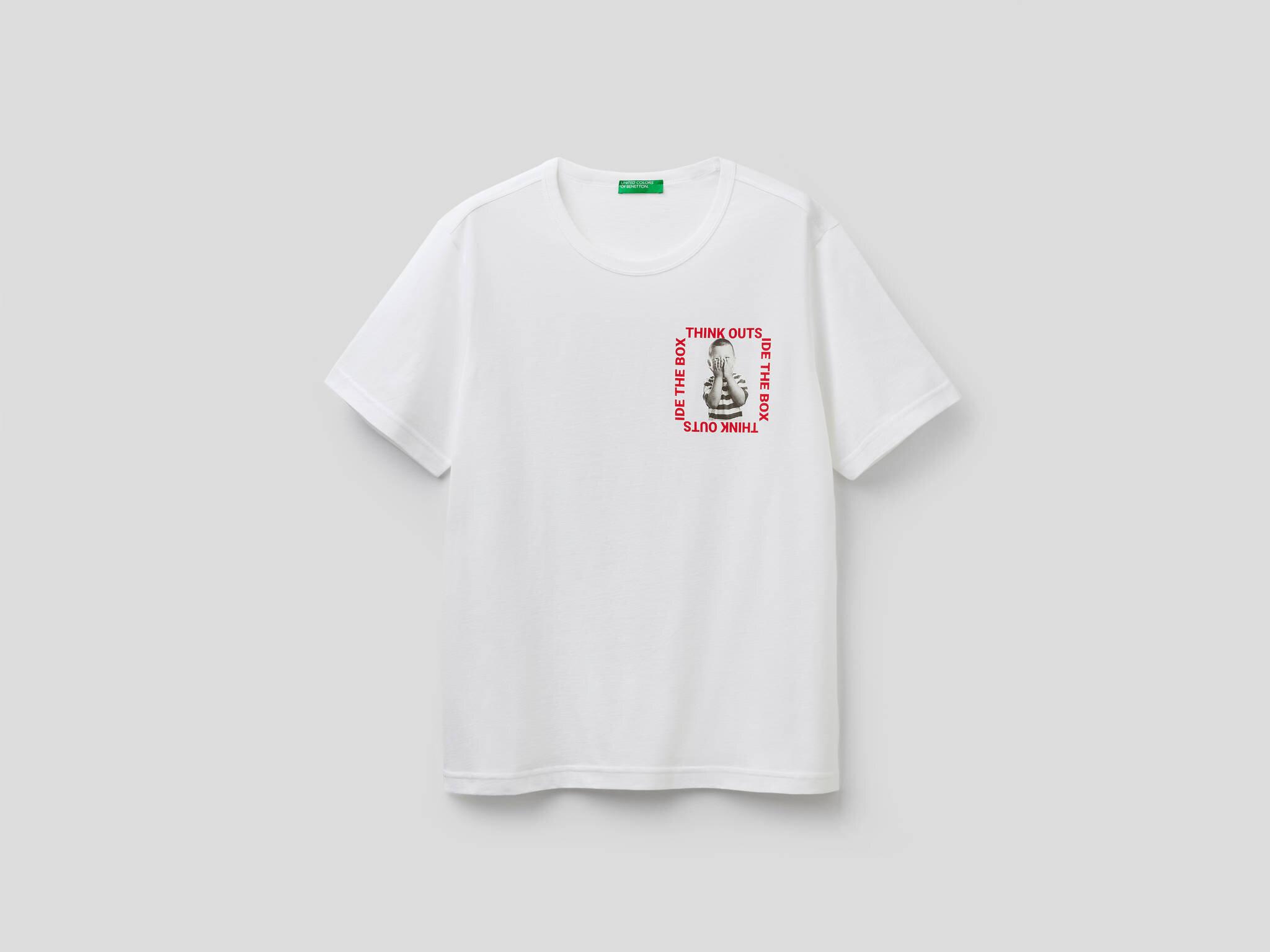 Minimal Baskılı Tshirt