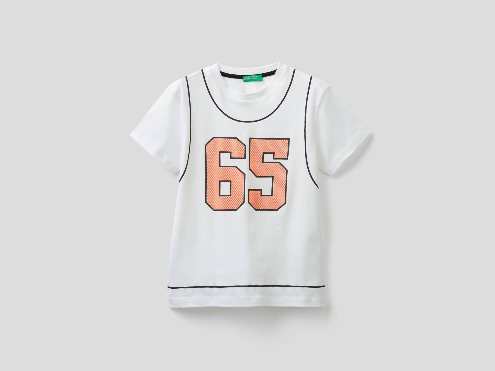 Basketbol Topu Baskılı Tshirt
