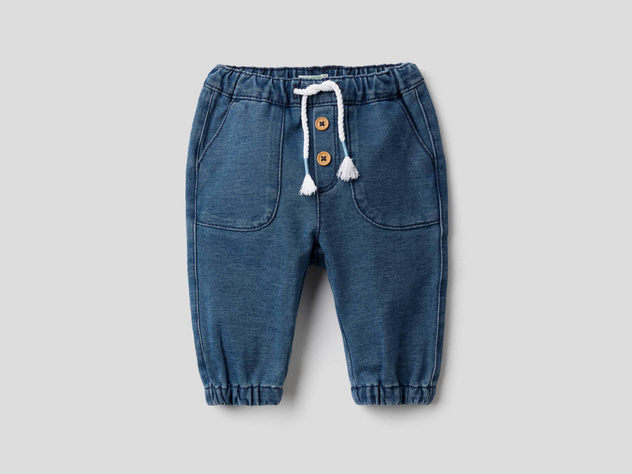 Felpa Denim Jean Pantolon