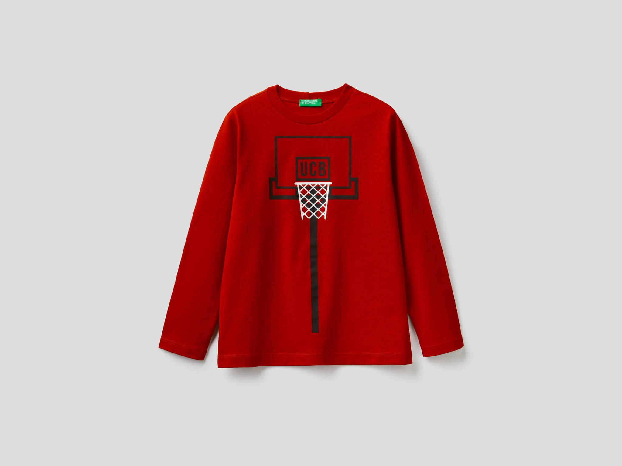 Basketbol Saha Baskılı Tshirt