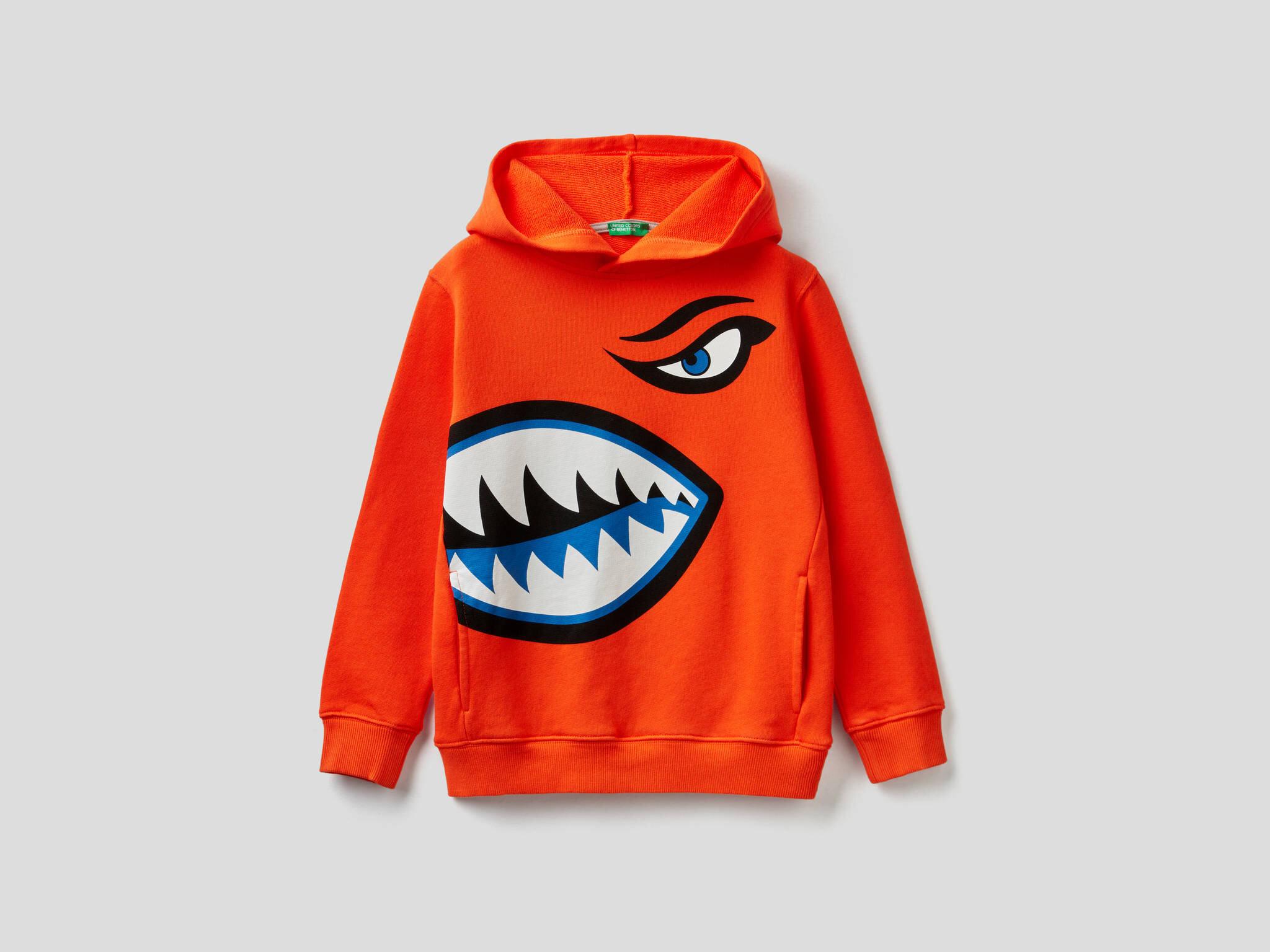 Kaplan Köpekbalığı Sweatshirt