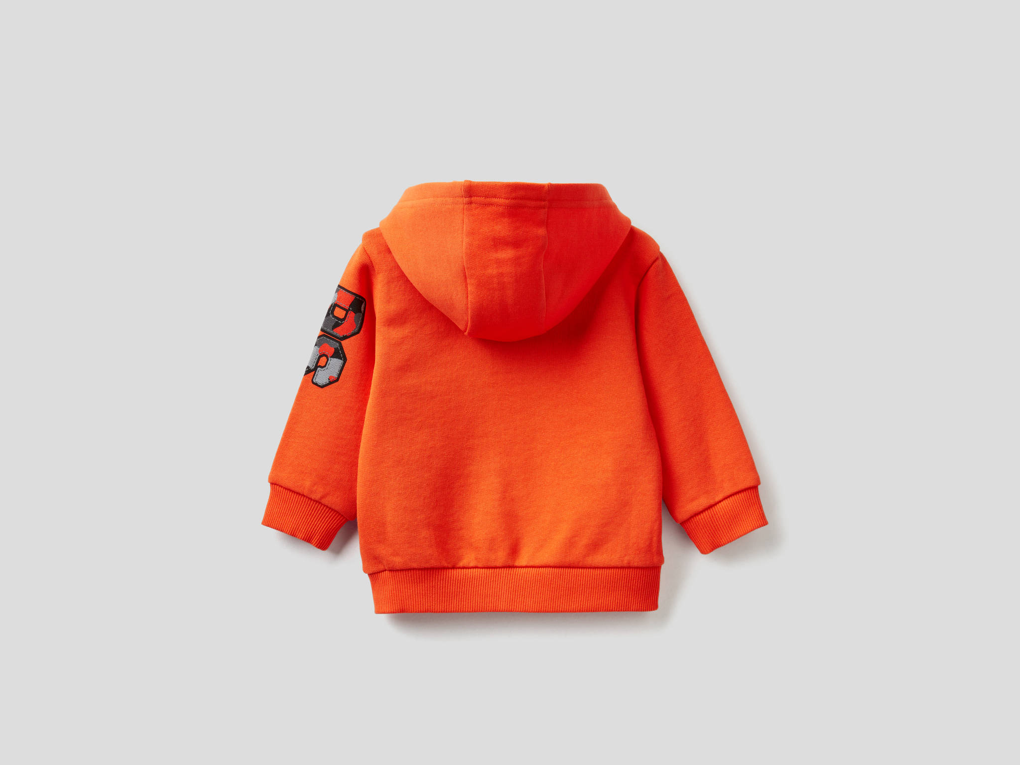 Kamuflaj Yazılı Sweatshirt
