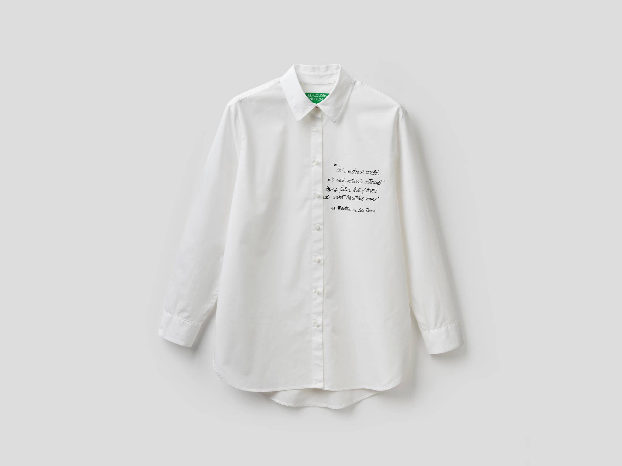 Yazı Baskılı Gömlek