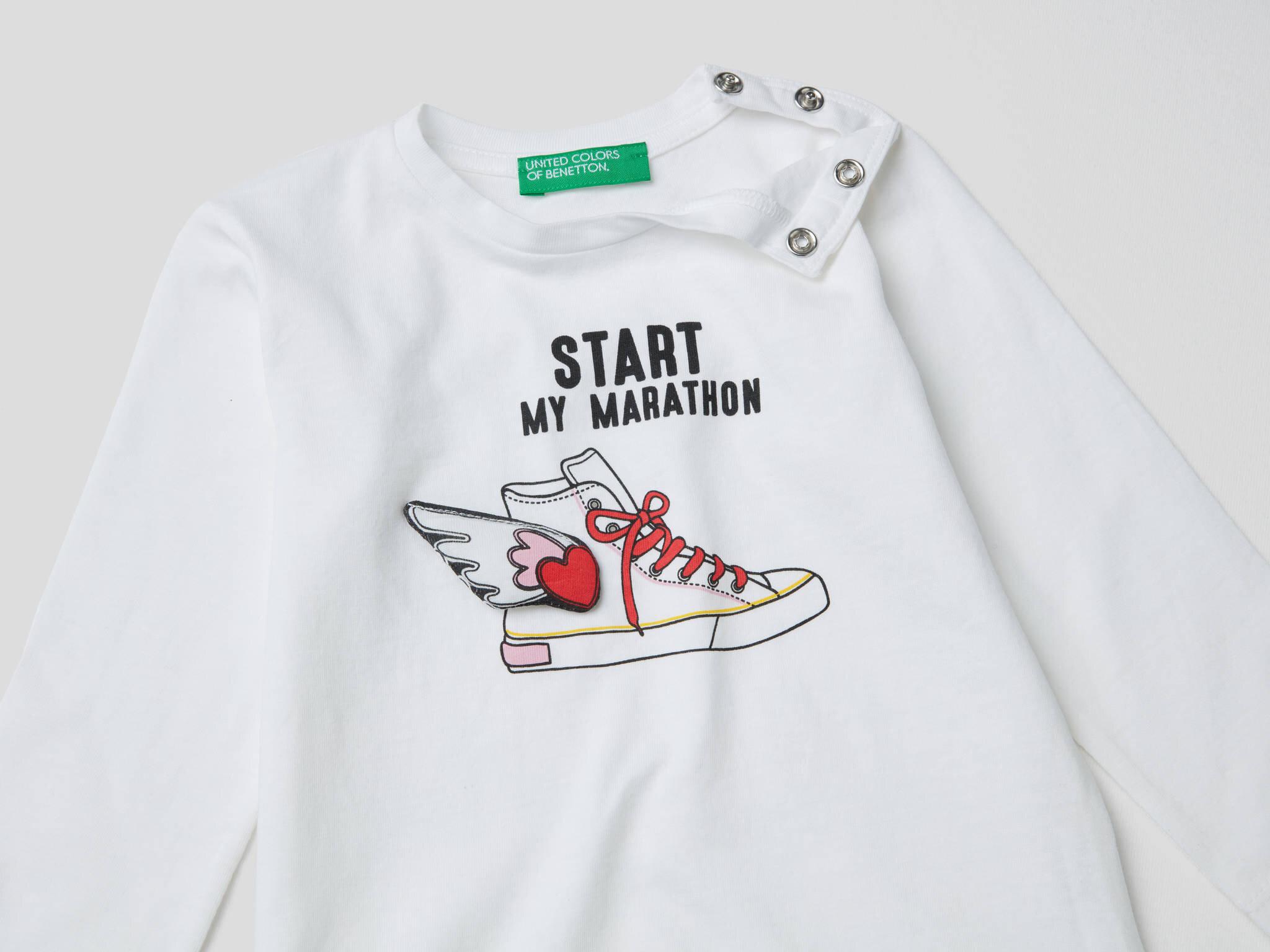 3D Detaylı Sneaker Tshirt