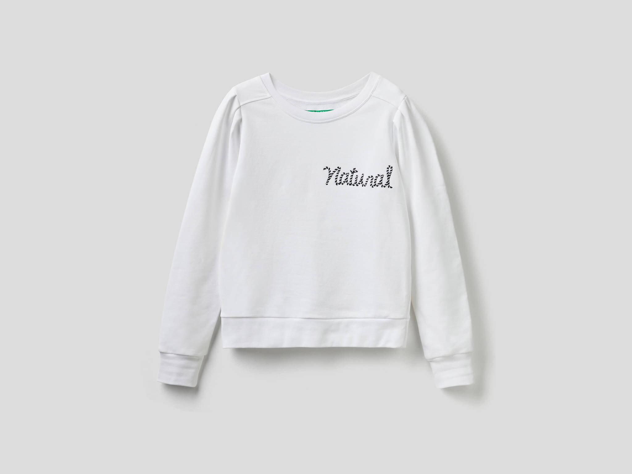 Göğsü Nakışlı Sweatshirt