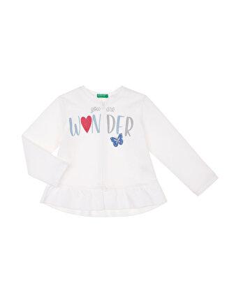 Eteği Fırfırlı Sweatshirt