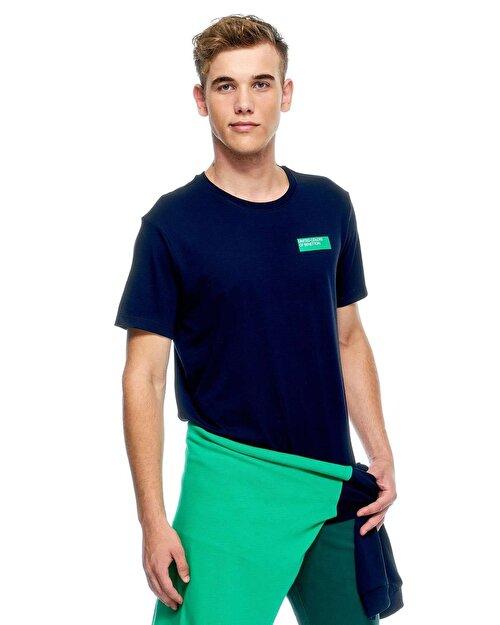 Benetton Logolu Kısa Kollu Tshirt