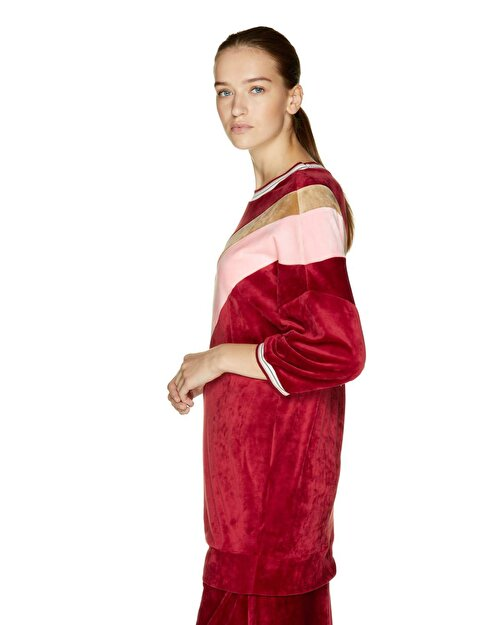 Kadife Spor Elbise