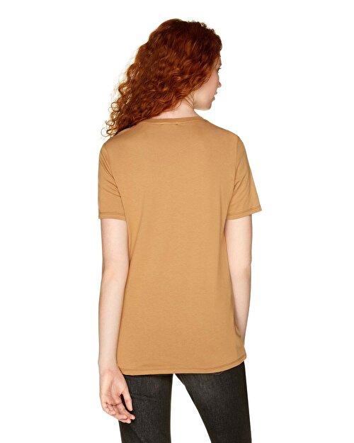 Modal Karışımlı Logo T-shirt