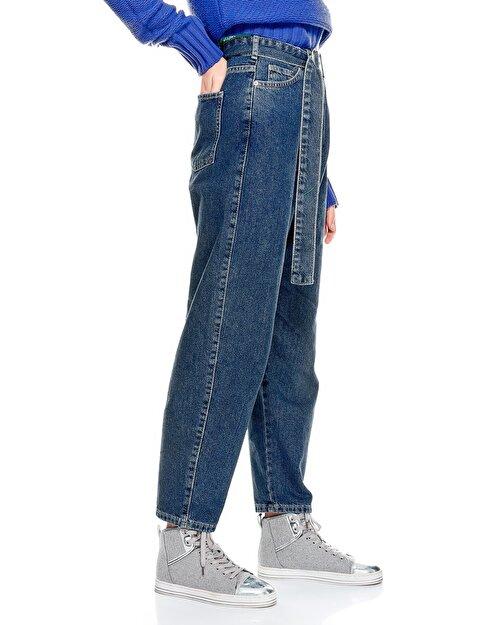 Bol Kesim Denim Pantolon