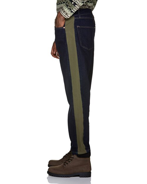 Düşük Bel Zincirli Pantolon