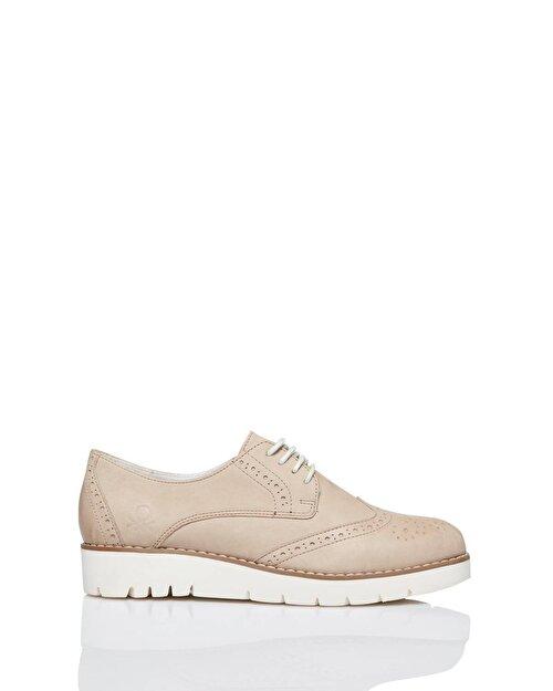 Kalın Tabanlı Oxford Ayakkabı