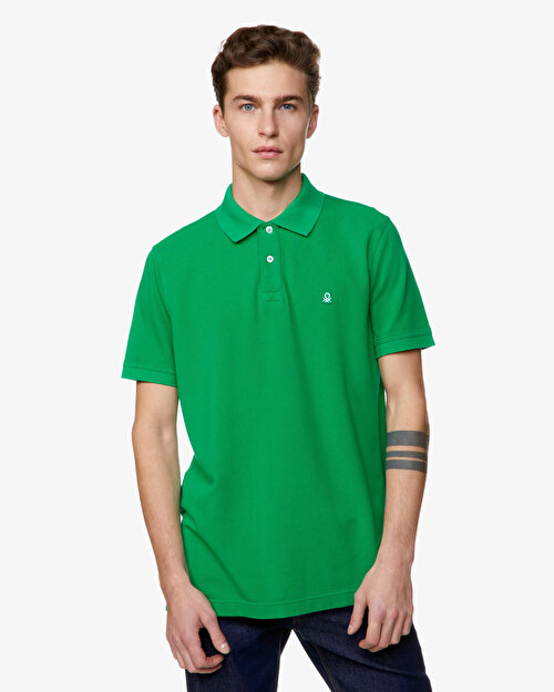 Regular Fit Kısa Kollu Polo Tshirt