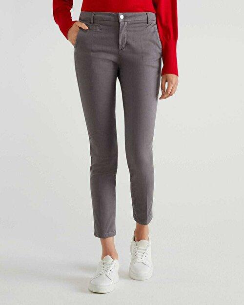 Elastanlı Basic Chino Pantolon