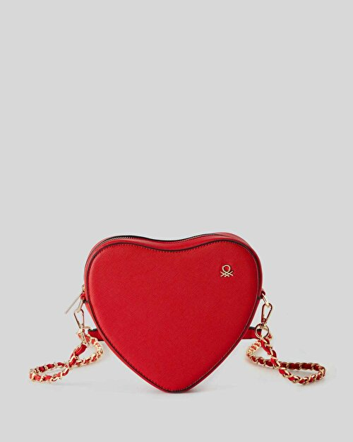 Mini Kalp Çanta