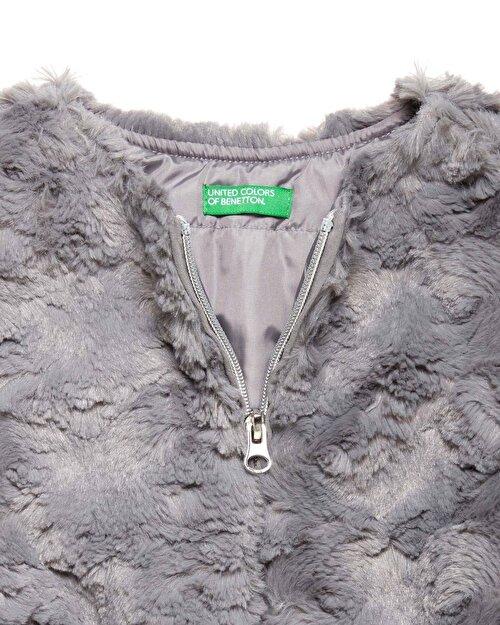 Kemer Detaylı Kürk Ceket