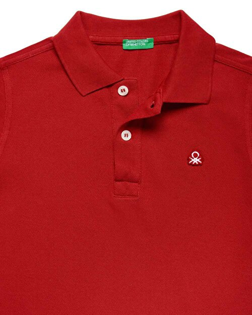 Benetton Logo Pike Polo Tshirt
