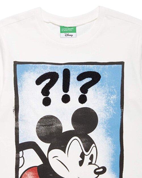 Mickey Baskılı Tshirt