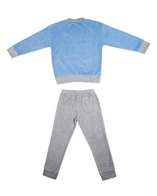 Slogan Baskılı Pijama Takım