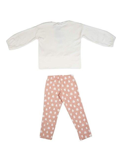 Hayalet Desenli Pijama Takım