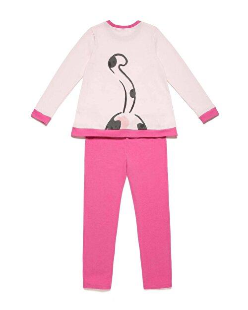 Kedi Desenli Pijama Takım