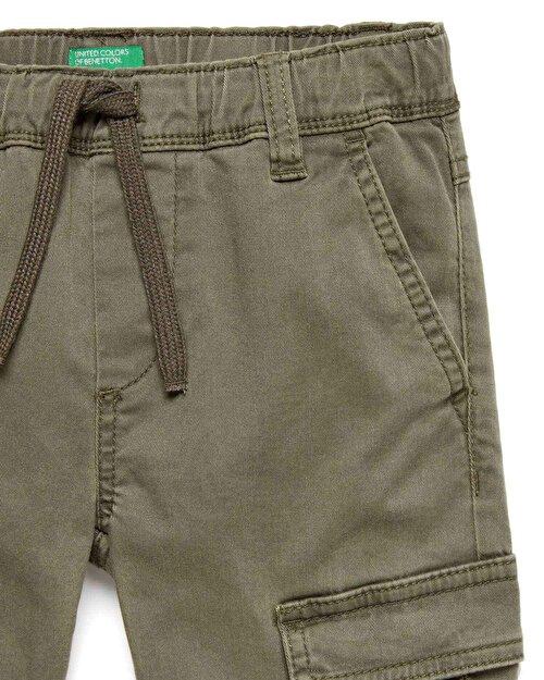 Beli İpli Kargo Pantolon