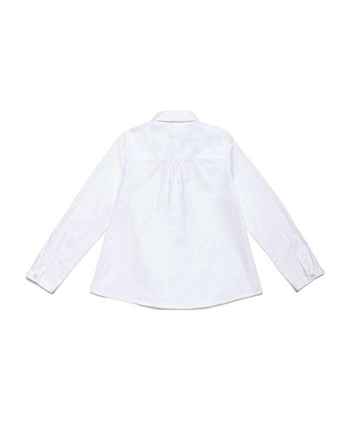 Düz Poplin Gömlek