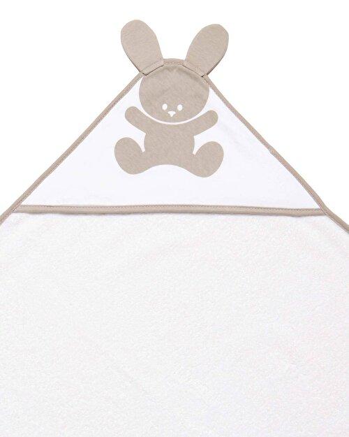 Bunny Logolu Bebek Havlusu