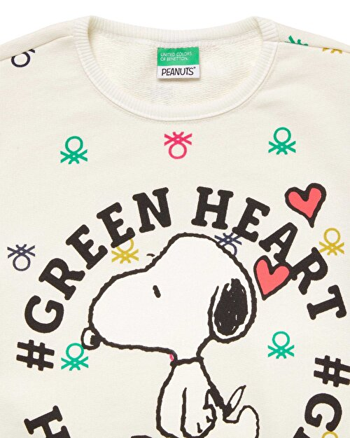 Benetton Logo Snoopy Sweatshirt