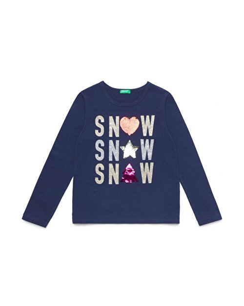 Glitter Snow Winter Tshirt