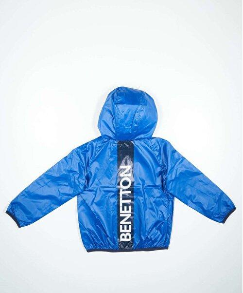 Benetton Yazılı Yağmurluk