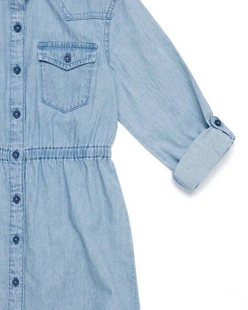 Jean Gömlek Elbise