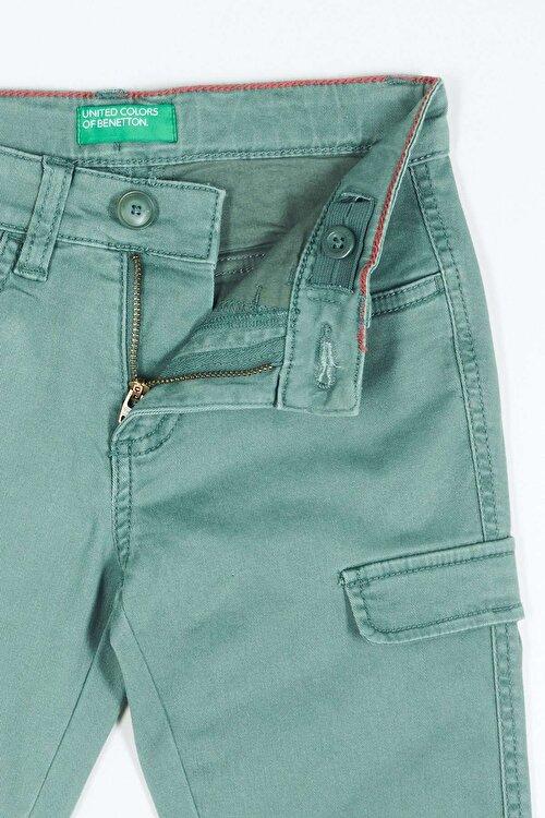 Kago Görünümlü Gabardin Pantolon