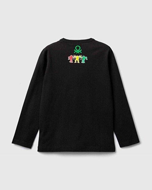 KeithH. Figür Baskılı Tshirt