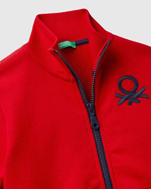 Benetton Logolu Sweatshirt