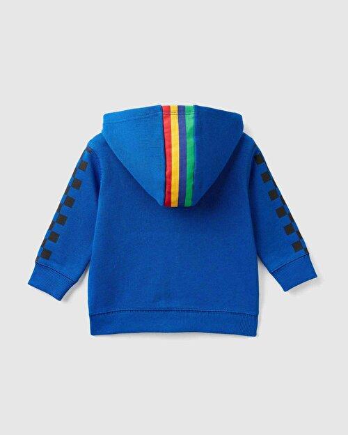 Dama Baskılı Sweatshirt