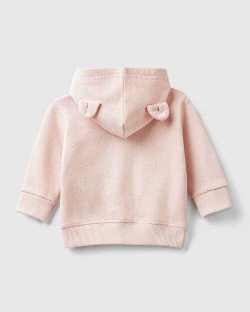 3DKulak Aplike Sweatshirt