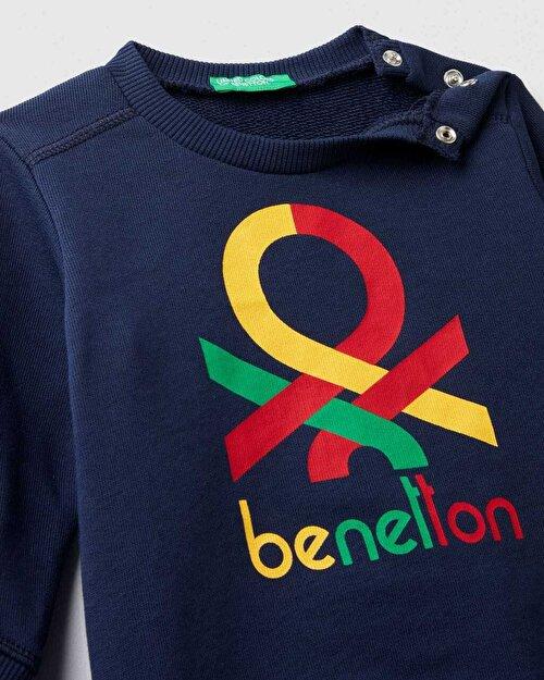 Benetton Yazılı Eşofman Takım