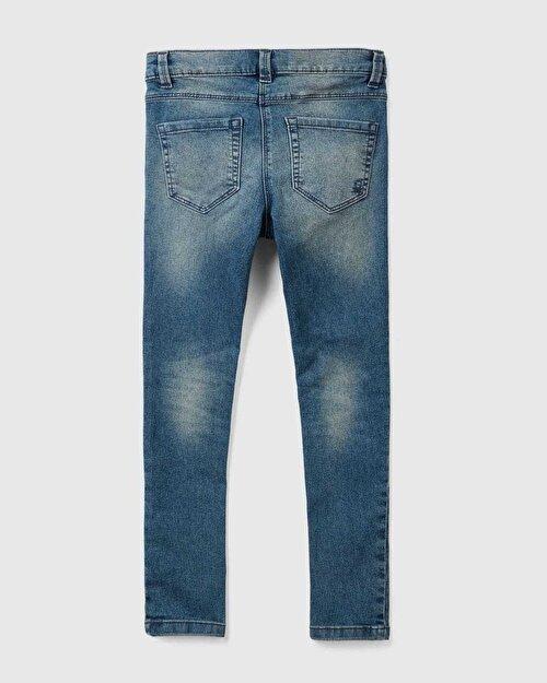 Yıkamalı Basic Jean Pantolon