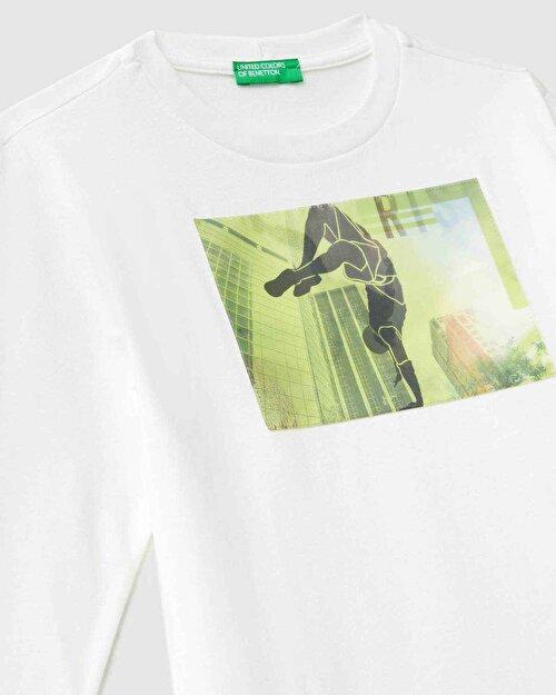 Holografik Aplikeli Tshirt
