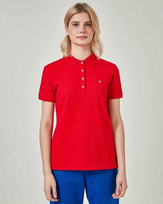 Basic Kısa Kollu Polo Tshirt
