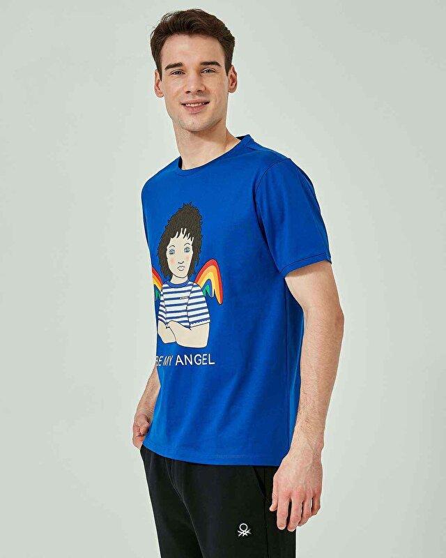 Melek Baskılı Tshirt