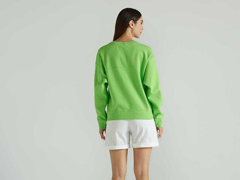 Logolu Crop Sweatshirt